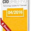CIO Briefing 04/2016