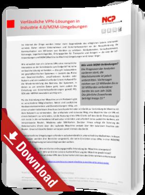 Verlässliche VPN-Lösungen in Industrie 4.0/M2M-Umgebungen