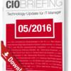CIO Briefing 05/2016