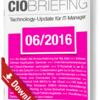 CIO Briefing 06/2016