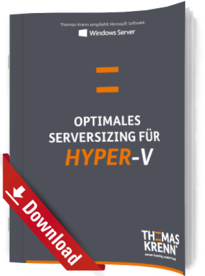 Optimales Serversizing für Hyper-V