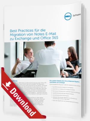 Migration von Notes E-Mail zu Exchange und Office 365 Einführung