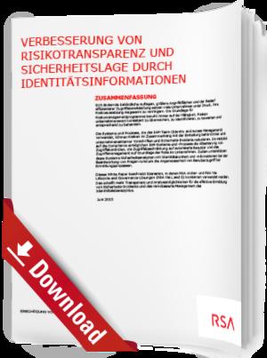 Verbesserung von Risikotransparenz und Sicherheitslage