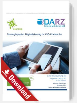 Digitalisierung ist CIO-Chefsache