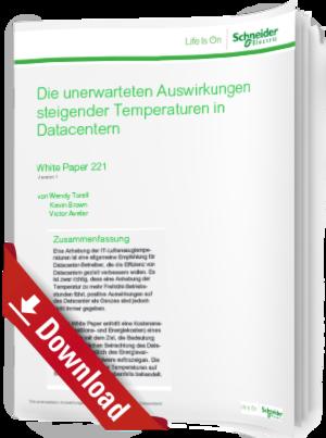 Die Auswirkungen steigender Temperaturen in Datacentern