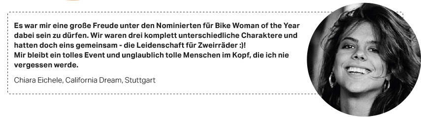 Bike Woman of the year