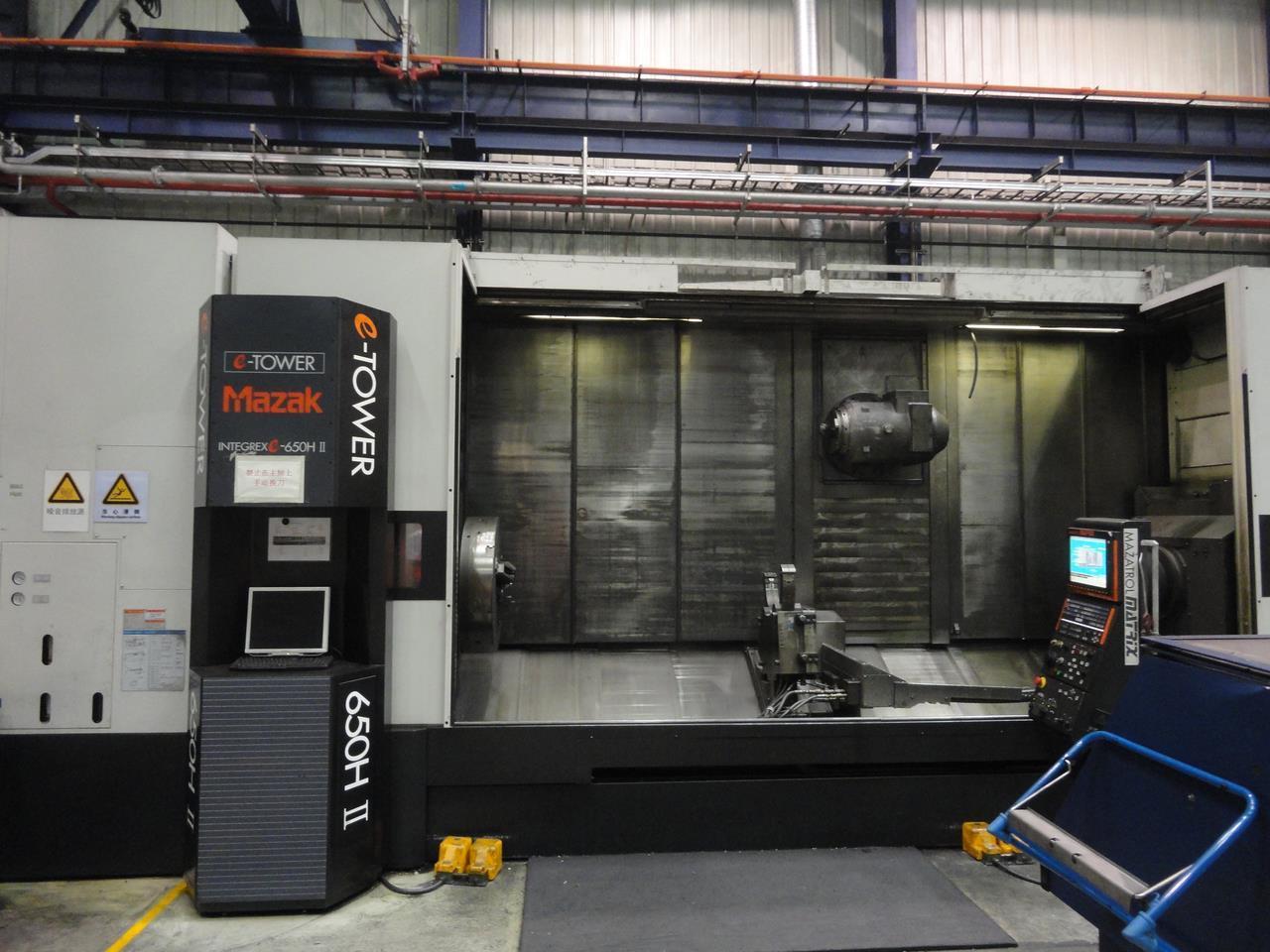 Dreh- u  Fräszentrum - MAZAK INTEGREX E-650H-S MAZATROL Matrix