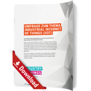 Studie zum Thema Industrial Internet of Things (IIoT)