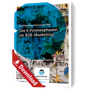 Die 6 Prozessphasen im B2B-Marketing