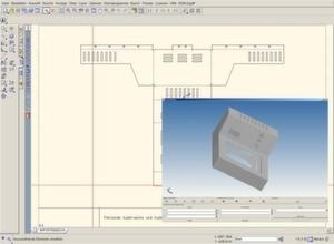 kostenlose 2d 3d cad software f r linux und windows freigegeben. Black Bedroom Furniture Sets. Home Design Ideas