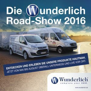 Wunderlich: Mit Produktneuheiten on the road