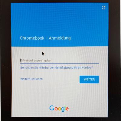 Chromebook-Anmeldung: Der Port von Chromium OS behandelt das