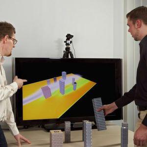 Fraunhofer-Forscher entwickeln interaktive Strömungssimulation in Echtzeit