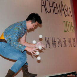 Opening of AchemAsia 2016 — Increasing Role of China as a Level Player on the Global Market