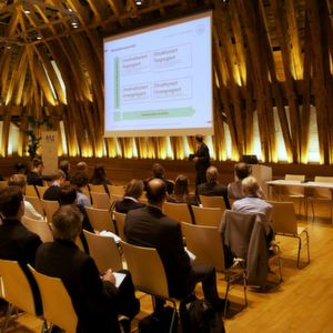 Nearly 200 participants meet at the 11.Kolloquium Prozessanalytic in Vienna.
