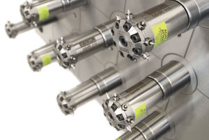 Ewikon's highly efficient multi-nozzle system for side gating that is used in medical technology.