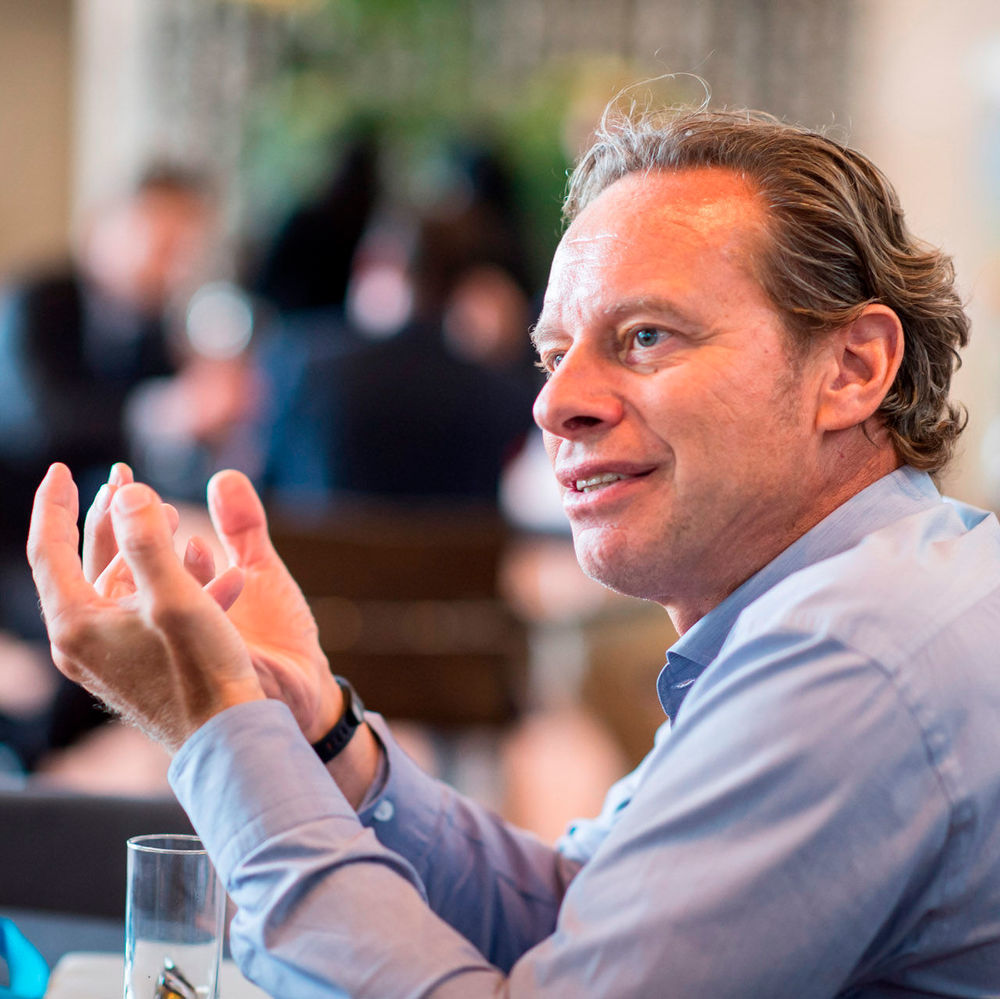 Jeroen Tas, CEO Connected Care and Health Informatics bei Philips