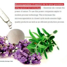 The Essence of Efficiency: Microencapsulation Contains the Power of Essential Oils