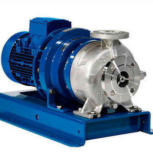 Magnetic drive chemical process pump MKP with baseplate and motor