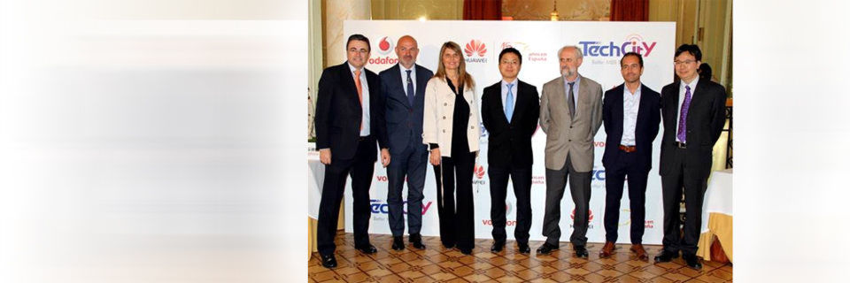 "Huawei hat die Initiative ""Madrid Tech City"" Anfang Juni vorgestellt."