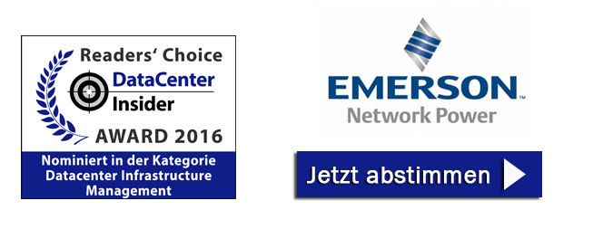 Emerson Network Power ist nominiert in der Kategorie DCIM