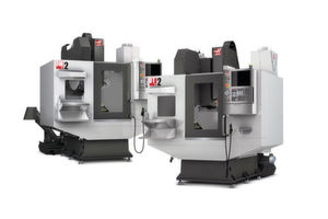 Haas' DM-2 drill/mill centre and DT-2 drill/tap centre.