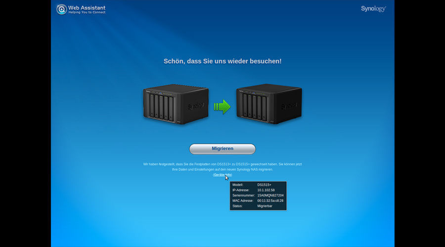 Angetestet: Synology DSM 6.0.