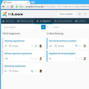 Cloud-basiertes Projektmanagement mit Outlook-Integration