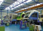 Business is thriving: Busy times for Stadler Rail's workshops in Bussnang