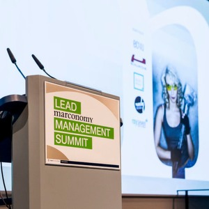 Vortragscharts vom Lead Management Summit 2016