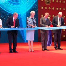 The official opening was carried out in the presence of Her Royal Highness Princess Benedikte of Denmark