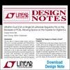 Ultraflacher µModule-Regler für die Platinenunterseite
