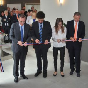 Azo opening ceremony in Vallet.