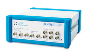 Präzisions Impedanzanalysator und LCR-Meter MFIA von Zurich Instruments.