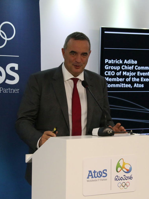 Patrick Adiba, Atos Group.