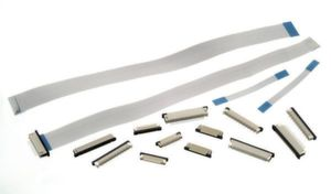 ZIF-Steckverbinder und flexible Flachbandkabel im Portfolio