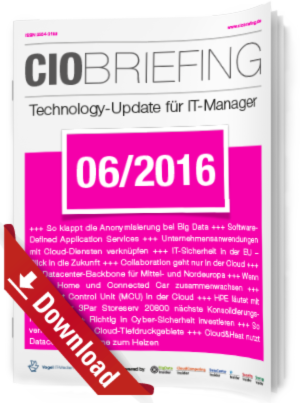 CIO Briefing 06/2016