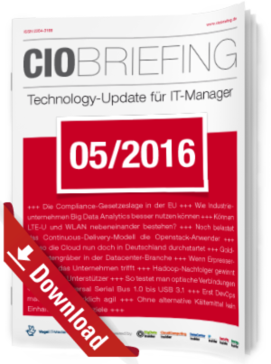 CIO Briefing 05/2016