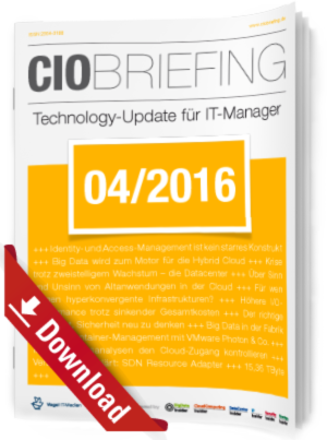 CIO Briefing 04/2016