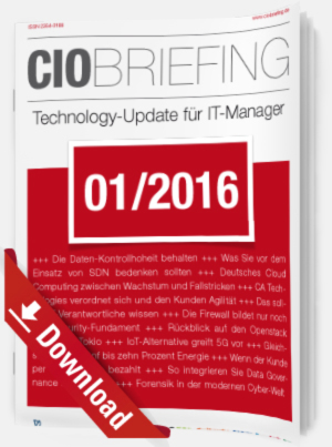 CIO Briefing 01/2016