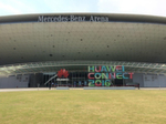 In der 'Mercedes Benz Arena' fanden die Keynotes des Huawei-Kongresses 'Connect 2016' statt.