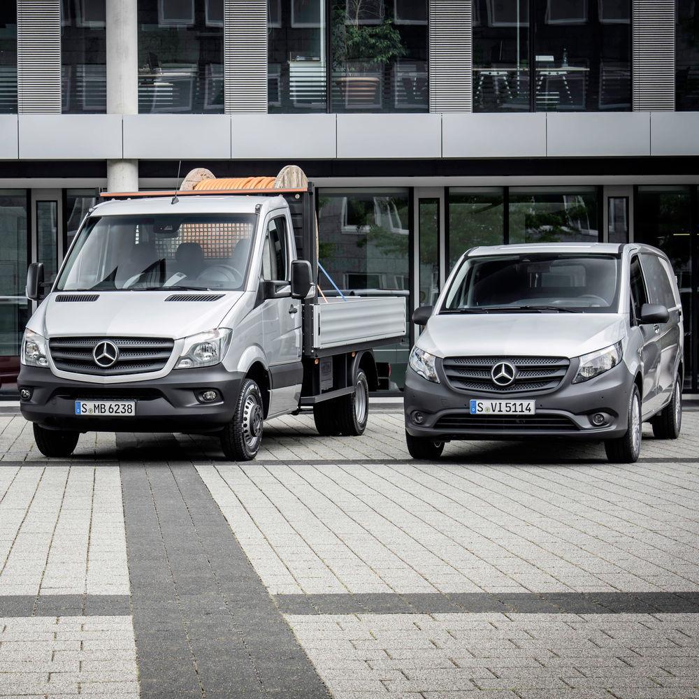 Mercedes Bündelt Seine Dienstleistungsangebote Für Gewerbliche