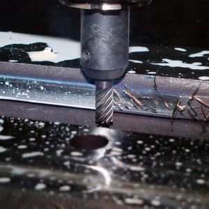 An alternative to traditional metal cutting tools is the application of robotic waterjets. The advantage of using water is that it includes no chemicals and it is heat, smoke and dust free.