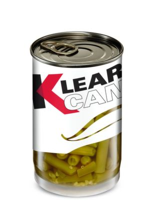 Milacron's Klear Can is a recyclable multilayer plastic can that is said to be poised to dethrone metal food cans for the packaging of long shelf-life items.
