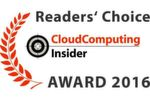 CloudComputing-Insider Readers' Choice Awards 2016.