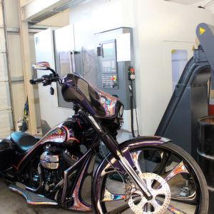 Motorrad-Veredler individualisiert Harleys mit Siemens-Steuerung