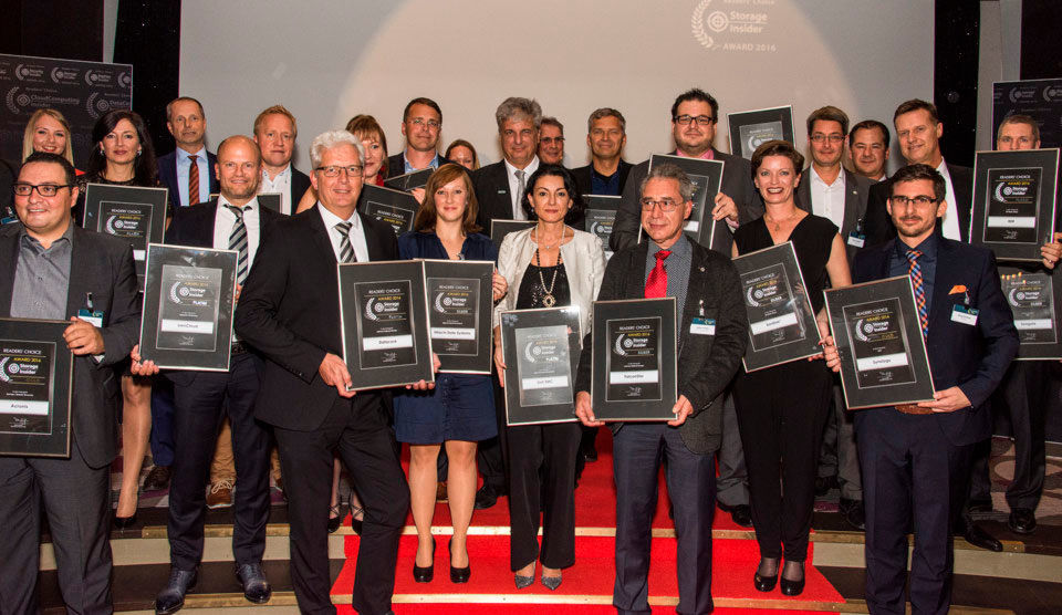 Das sind die glücklichen Gewinner der Storage-Insider Readers´Choice Awards 2016 in den Kategorien All-Flash-Array, Archivierung, Backup/DR, Enterprise Filesharing, Highend-Speichersysteme, NAS und Software-defined Storage.