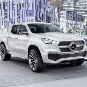 Mercedes startet mit Pick-up Ende 2017