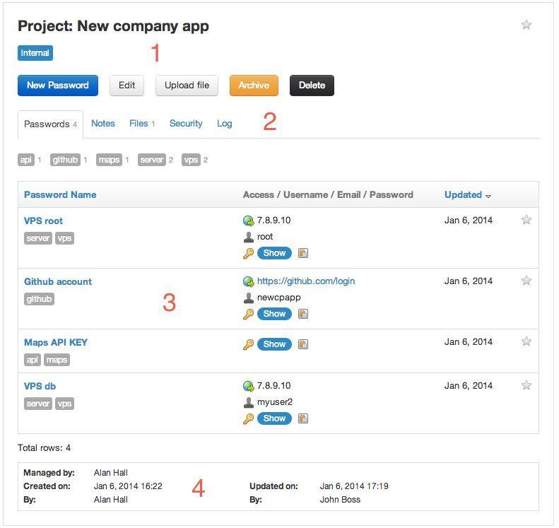 Team Password Manager ist eine Web-Applikation, die Unternehmen ...