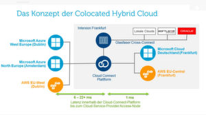 Das Konzept der Colocated Hybrid Cloud.